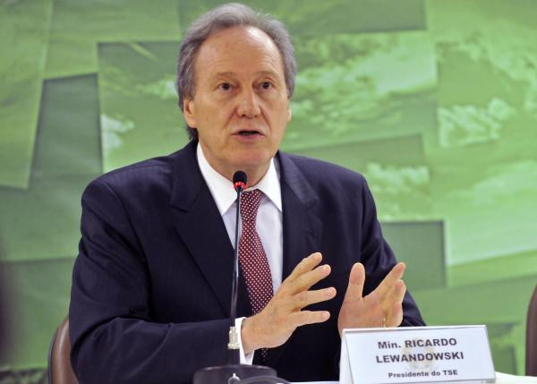 Ministro Ricardo Lewandowski participa das atividades amanhã na Capital Foto:José Cruz   -