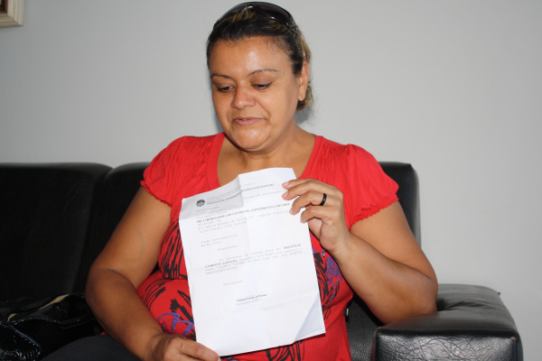 Valdely dos Santos lembra que sem estrutura não adianta denunciar Foto: Div -