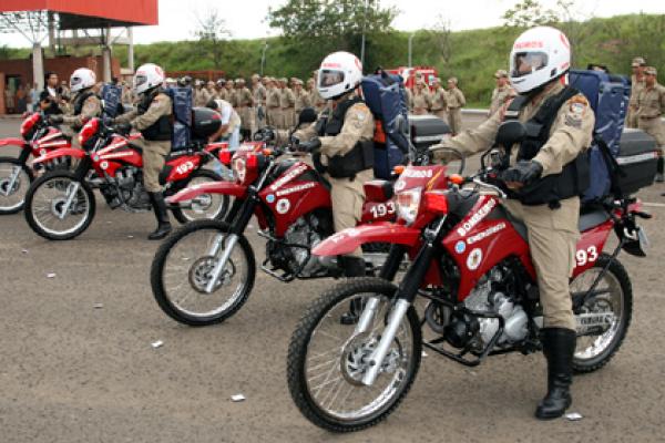 Uso de moto reduziu em 20% o tempo dos atendimentos  Foto: Rachid Waqued -