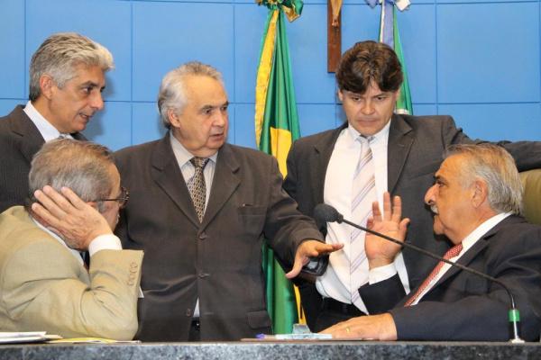 Jerson Domingos quer aprovação de todas as matérias até o dia 17 de dezembro Foto:Giuliano Lopes  -