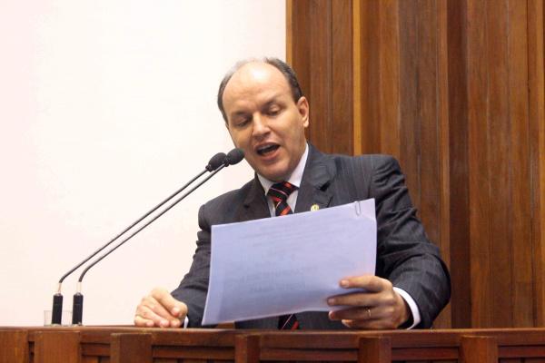 Deputado Junior Mochi, presidente Comissão de Constituição, Justiça e Redação Foto/Elias Alves  -