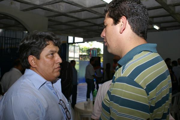 Carlinhos Cantor e Sidlei Alves, continuam presos na Phac em Dourados Foto: Hédio Fazan -