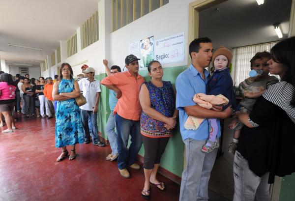 As despesas dos candidatos correspondem a um gasto médio de R$ 20,41 por eleitor Foto:ABr -