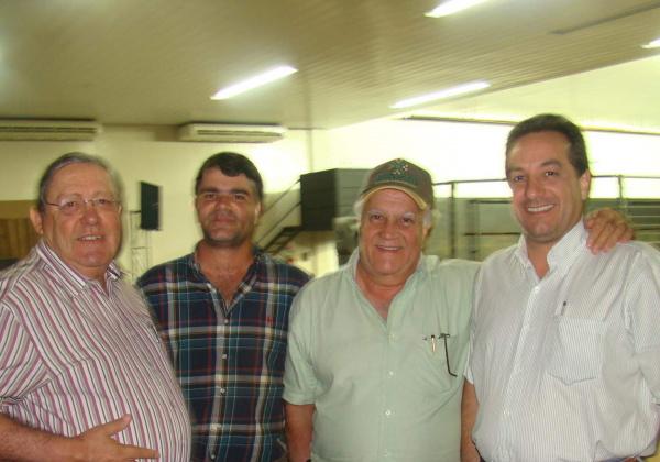 Legenda - Marcos de Rezende Andrade, o Kito, Carlão Guaritá, Carlos e Marisvaldo Zeuli Foto: Divulgação -