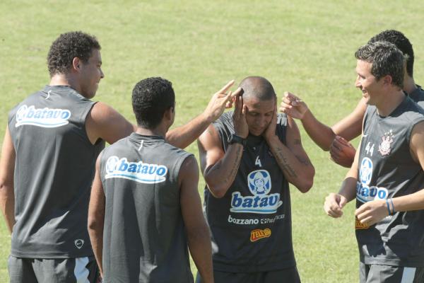 Jogadores do Corinthians apostam em decisão de superação, mais uma vez no grupo Foto/Arquivo  -