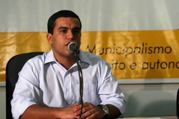 Beto Pereira, presidente da Assomasul, convoca prefeitos para nova mobilização Foto: Chico Ribeiro  -