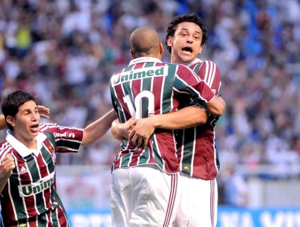 Gol de Sheik Emerson, aos 16 minutos do segundo tempo, trouxe o titulo Foto: Globo Esporte -