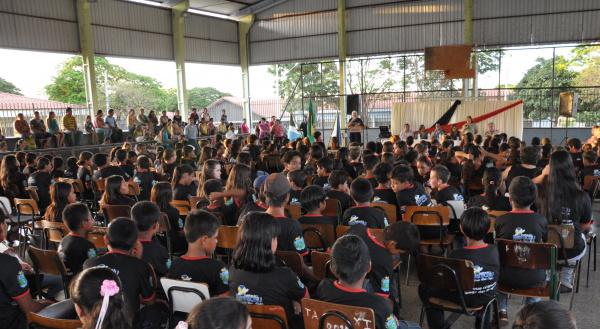 Nona turma do PROERD é Formada em Maracaju  Foto: Reginaldo Ferreira -