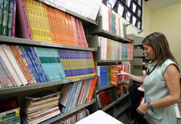 Instituto Penal incentiva a leitura Biblioteca do órgão  Foto: divulgação  -