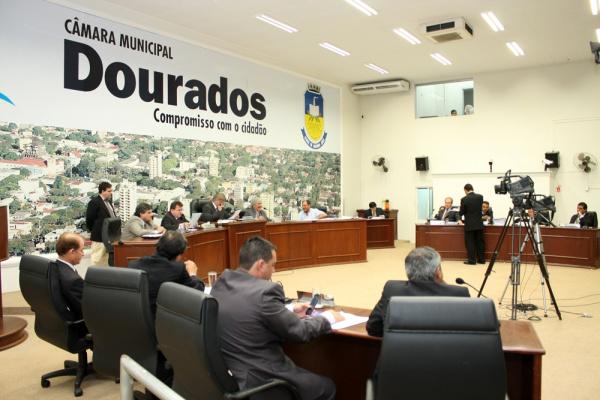 Vereadores de Dourados aprovaram orçamento do município para ano que vem Foto: Eder Gonçalves   -
