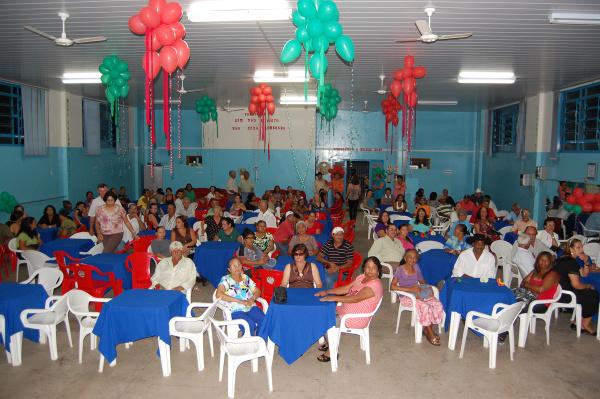 O evento realizado no próprio Centro de Convivência do Idoso  - Crédito: Foto: Divulgação