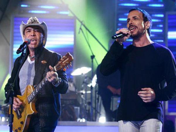 A dupla Chrystian e Ralf, que anima o show de aniversário   - Crédito: Foto: Divulgação