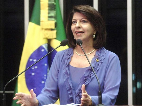 Marisa Serrano estará hoje em Dourados para discutir as eleições municipais Foto: div  -