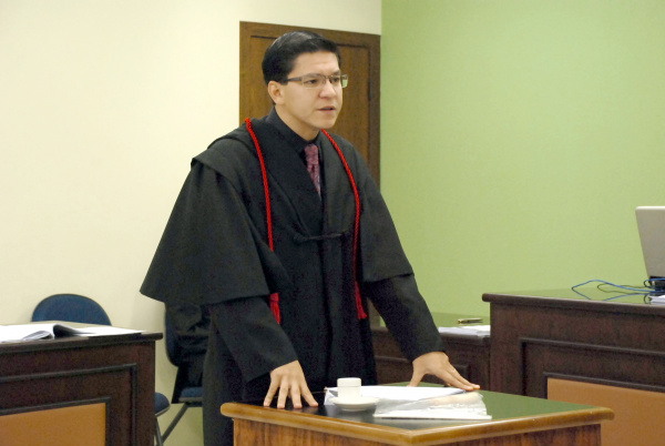 Professor fala sobre julgamento Foto: Rogério Sanches -