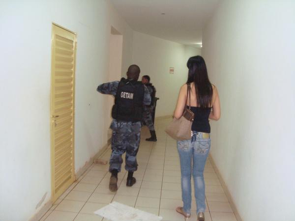 Promotora Patrícia Barbosa de Lima acompanhou as ações Foto: Cido Costa  -