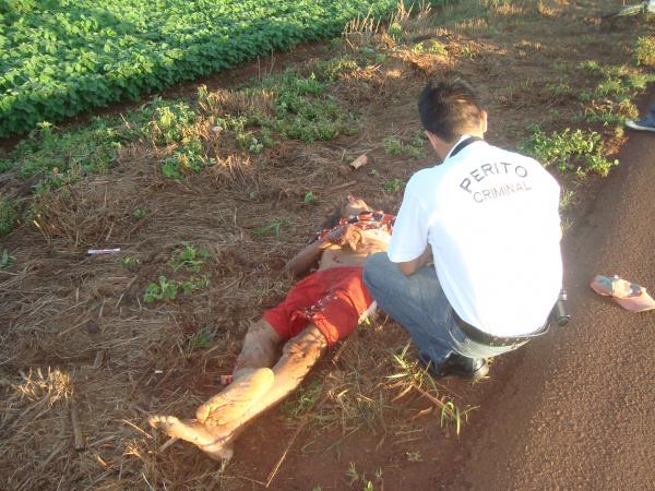 Ciclista teve fraturas generalizadas e morreu no local Fotos: Sidnei L. Bronka -