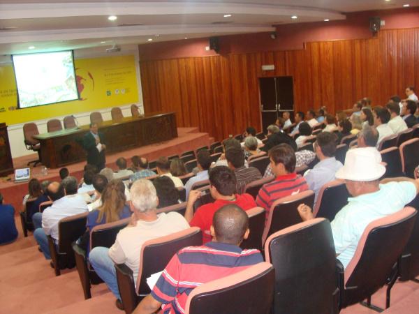 Encontro reuniu cerca de 100 educadores do Senar no auditório da Famasul  - Crédito: Foto: Divulgação