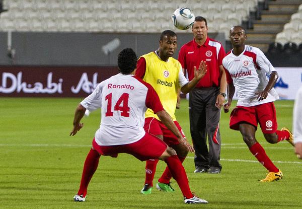 Internacional treinou ontem com foco na estréia e como favorito na partida de hoje Foto/Jefferson Bernardes/Divulgação  -
