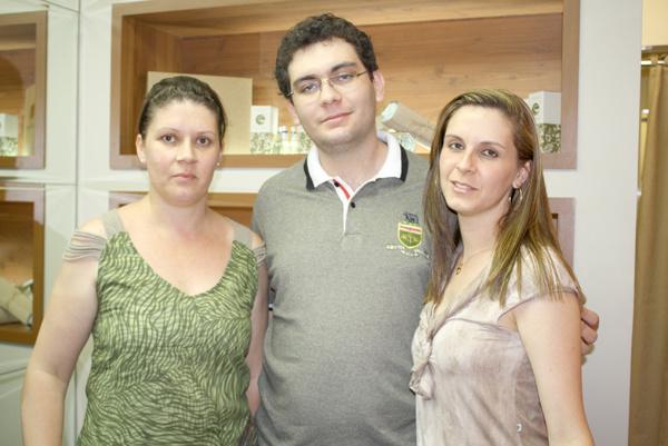Cris, João e Karla -