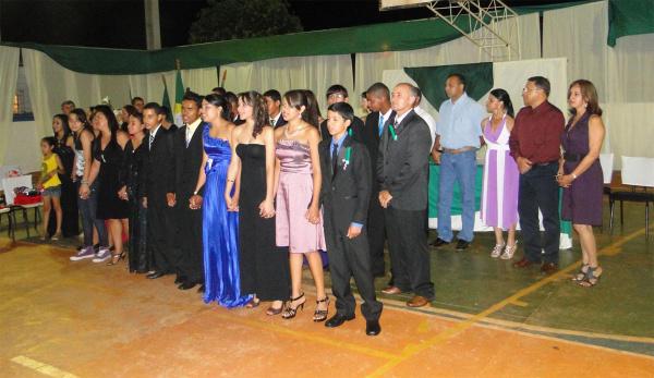 Formatura dos alunos da Escola Rural Jovelino Celestino dos Santos  - Crédito: Foto: Divulgação
