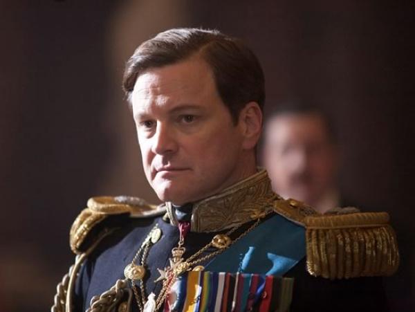 """Leg: Colin Firth, o rei inglês George VI, em \""""O Discurso do Rei\"""" Foto: Divulgação    -"""
