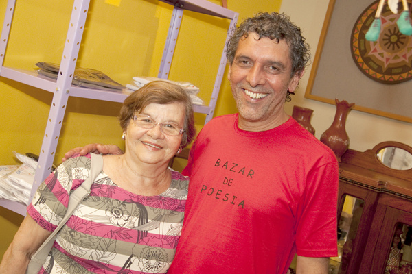 Vilma Pizzini e Emmanuel Marinho -