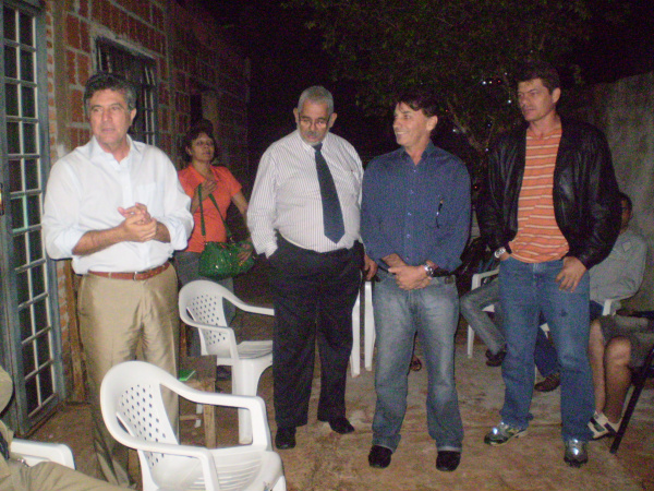 Vice-governador Murilo Zauith durante reunião com integrantes do PSDC  - Crédito: Foto: Silva Junior