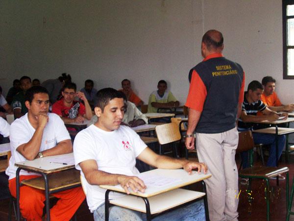 Mais de 500 presos se inscreveram para o Enem este ano  - Crédito: Foto: Divulgação