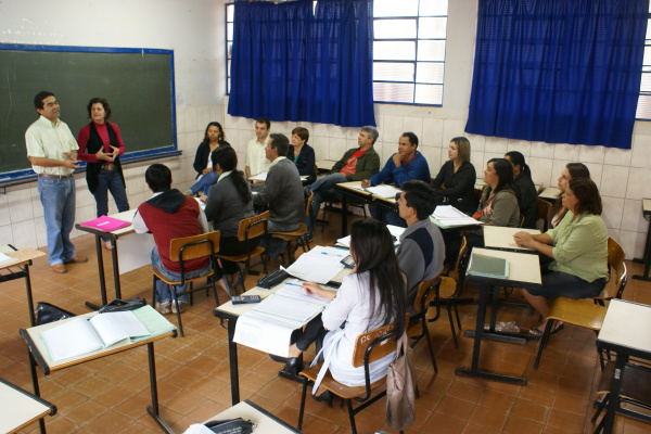 Secretário de Educação e Esportes Apolinário Candado fala sobre adesão   - Crédito: Foto: José Carlos