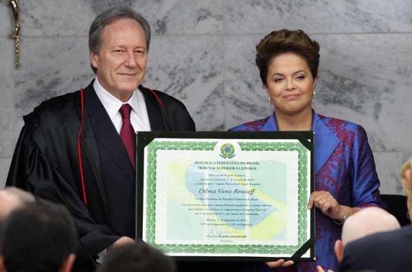 Dilma Rousseff, a primeira mulher a ser eleita presidente da República do Brasil  - Crédito: Foto:divulgação