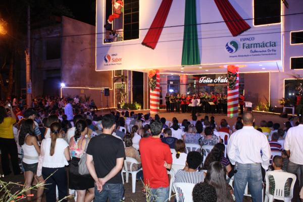 Público prestigia 2ª Cantata de Natal Unidos Pela Paz no Espaço Guilhermina Ortiz   - Crédito: Foto: Hédio Fazan