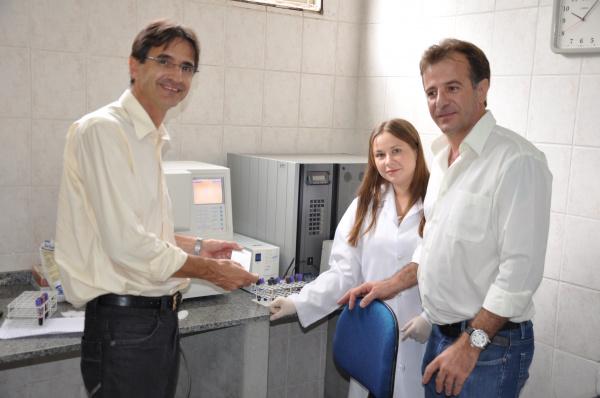 O novo aparelho hematológico é capaz de gerar os resultados em apenas 1 minuto   - Crédito: Foto: Divulgação