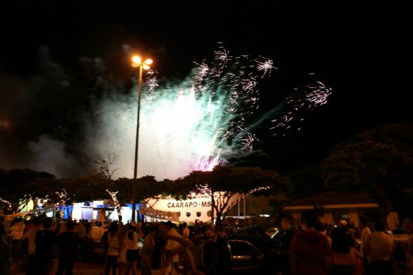 Tradicional queima de fogos na virada do ano é  aguardada com grande expectativa   - Crédito: Foto: Divulgação