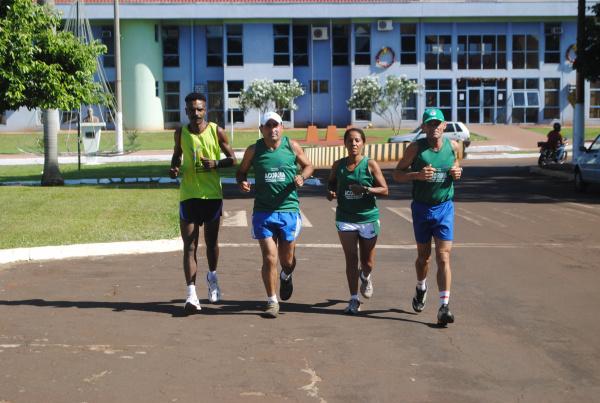 Competidores de Maracaju esperam fazer bonito na São Silvestre  - Crédito: Foto: Adersino Junior