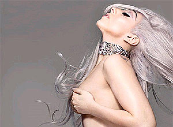 "Lady Gaga posa nua para revista \""Vanity Fair\""   -"