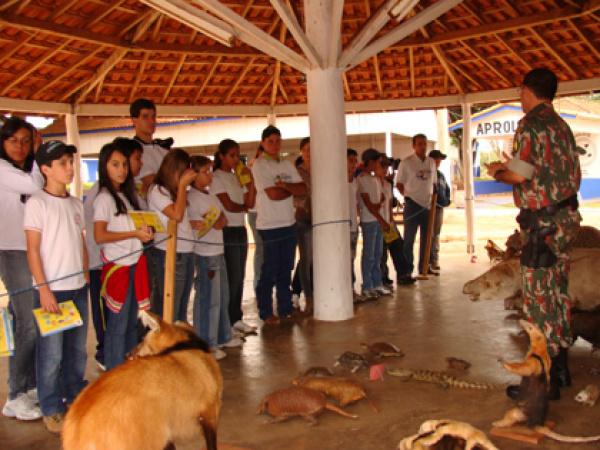 Palestras e oficinas educativas foram realizadas para crianças e adolescentes  - Crédito: Foto: Divulgação