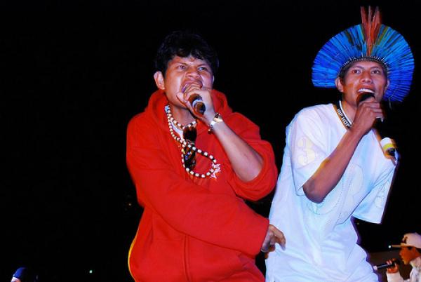 Em 2010 foram mais de 30 apresentações do grupo]  - Crédito: Foto: Divulgação