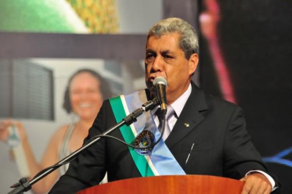 discurso de posse na Assembleia Legislativa Foto: João Garrigó -