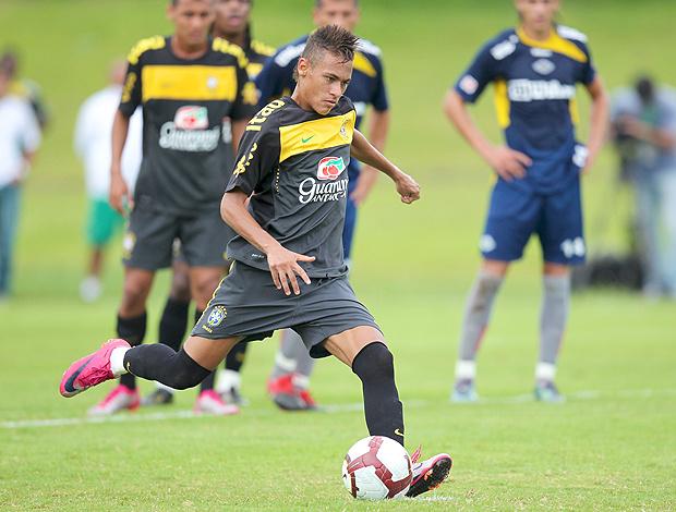 Neymar treino seleção Sub-20 - Crédito: Foto: Rafael Ribeiro / CBF