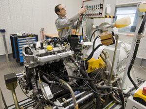 Fábrica de motores da Renault - Crédito: Foto: Divulgação