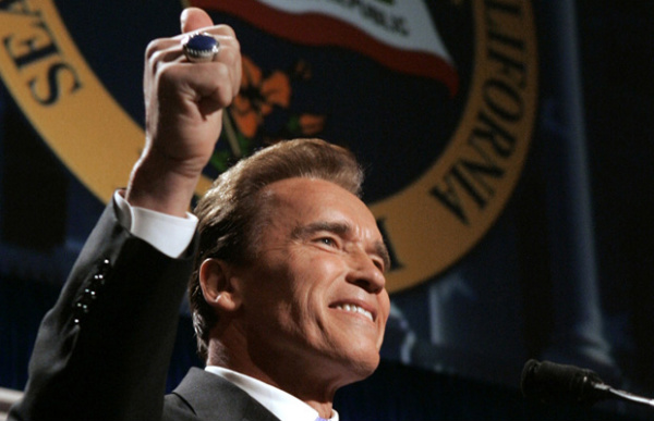 Arnold Schwarzenegger em 5 de janeiro de 2007. - Crédito: Foto: AP