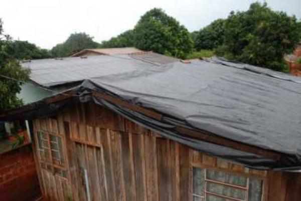 Recursos deverão ser utilizados em ações de recuperação de telhados  Foto - Divulgação   -