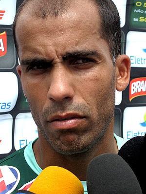 Felipe durante entrevista em Atibaia  - Crédito: Foto: Fred Huber / GLOBOESPORTE.COM