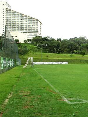 Campo principal do resort em Atibaia  - Crédito: Foto: Fred Huber / GLOBOESPORTE.COM
