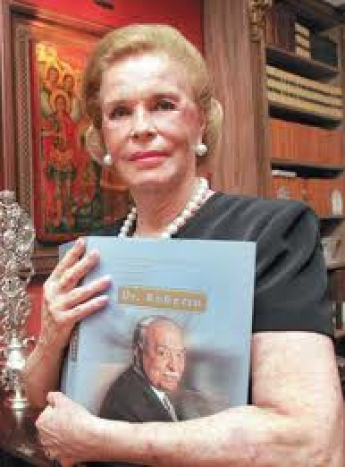 Lili Marinho, esposa de Roberto Marinho, morreu ontem no Rio Foto: div. -