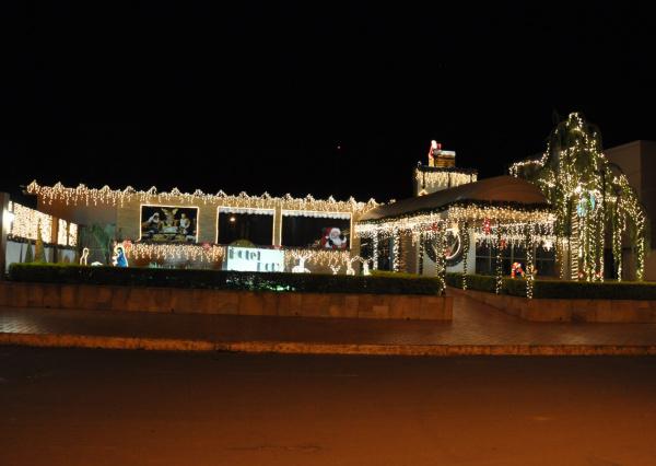 Melhores decorações são de moradores e empresários do município   - Crédito: Fotos: Reginaldo Ferreira