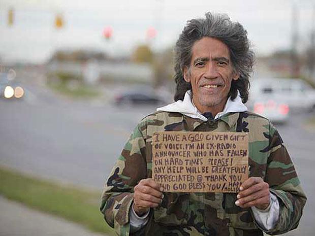 Williams disse que acabou na rua por causa das drogas - Crédito: Foto: The Columbus Dispatch