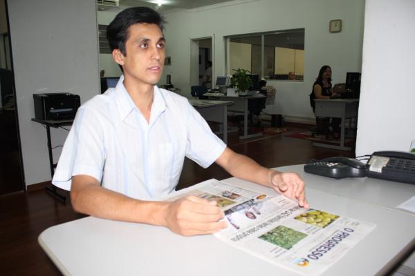 Secretário Adriano diz que base de dados será instalada no datacenter da prefeitura    - Crédito: Foto: Hedio Fazan