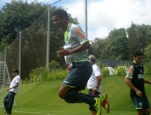 Zagueiro David no treino do Flamengo em Londrina  - Crédito: Foto: Richard Souza / Globoesporte.com