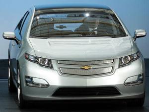 Chevrolet Volt, visto como símbolo do futuro da GM  - Crédito: Foto: Divulgação
